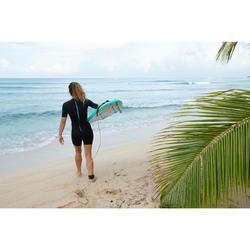 Neopreen surfpak shorty 100 voor dames 1,5 mm zwart