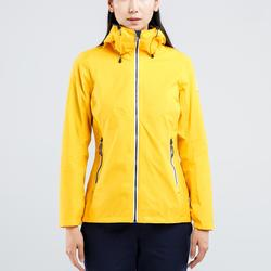女款防水航海外套Sailing 100-黃色