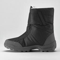 Schneestiefel Winterwandern SH100 Extra-Warm Damen schwarz