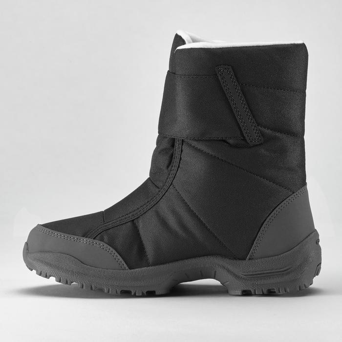Wandellaarzen voor de sneeuw dames SH100 X-warm zwart