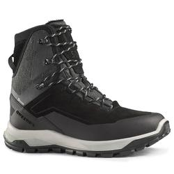 Men's Snow Hiking Boots SH500 U-Warm High - black.