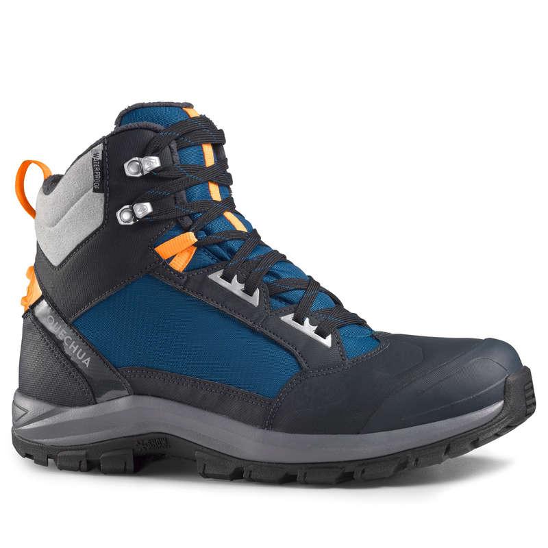 МУЖСКИЕ БОТИНКИ \ ЗИМНИЕ ПОХОДЫ Удобная обувь для походов - БОТИНКИ SH520 X–WARM МУЖСКИЕ QUECHUA - Бутик