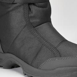 Winterstiefel Winterwandern SH100 Extra-Warm Damen schwarz