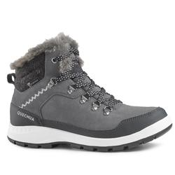 Women's Snow Hiking Boots SH500 X-Warm Mid - Grey