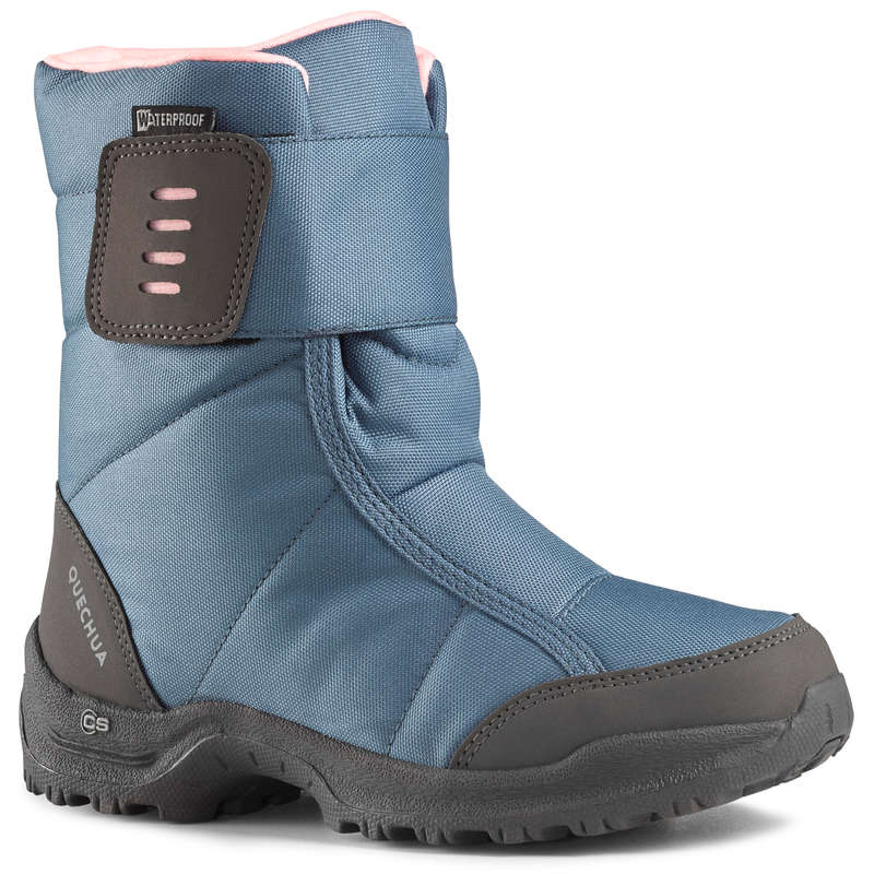 ДЕТСКАЯ ОБУВЬ \ ЗИМНИЕ ПОХОДЫ Удобная обувь для походов - САПОГИ ДЕТСКИЕ SH100 X–WARM QUECHUA - Бутик