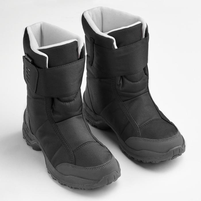 Bottes de randonnée neige femme SH100 x-warm noir