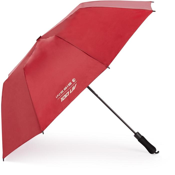 Regenschirm Golf 100 UV-Schutz dunkelrot