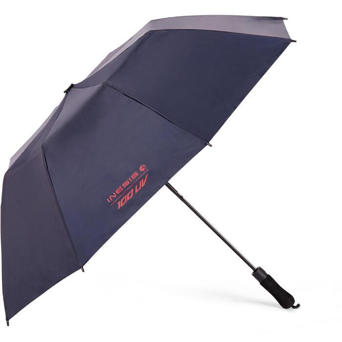 Regenschirm Golf 100 UV-Schutz dunkelblau