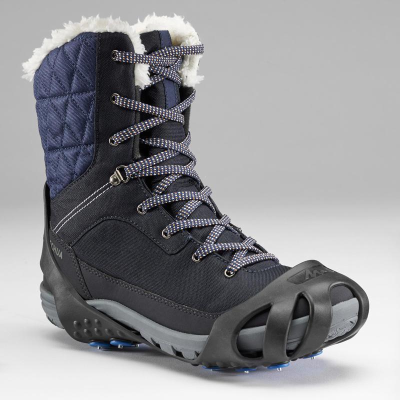 Snow Hiking Non-Slip Grip SH100 - Black