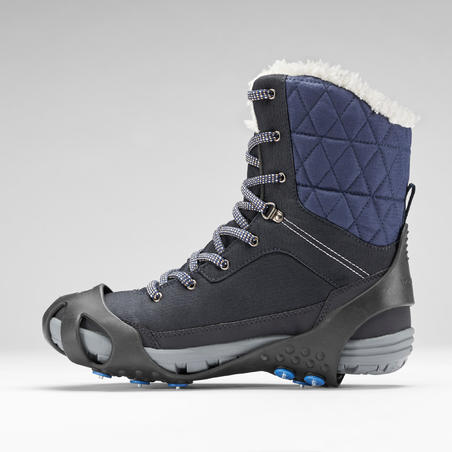 Snow Hiking Non-Slip - SH100 - Black