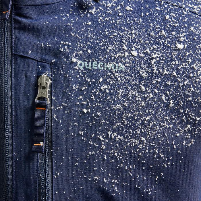 Veste de randonnée neige homme SH100 x-warm bleue