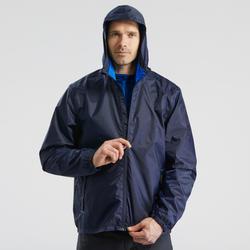 Men's Winter hiking jacket SH100 warm - Navy blue.B