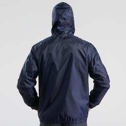 Veste chaude imperméable de randonnée neige homme SH100 warm bleue marine.