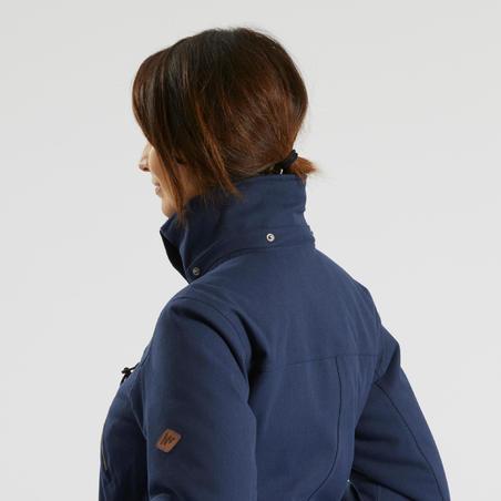 Women's Snow Hiking Jacket SH500 X-Warm - Blue