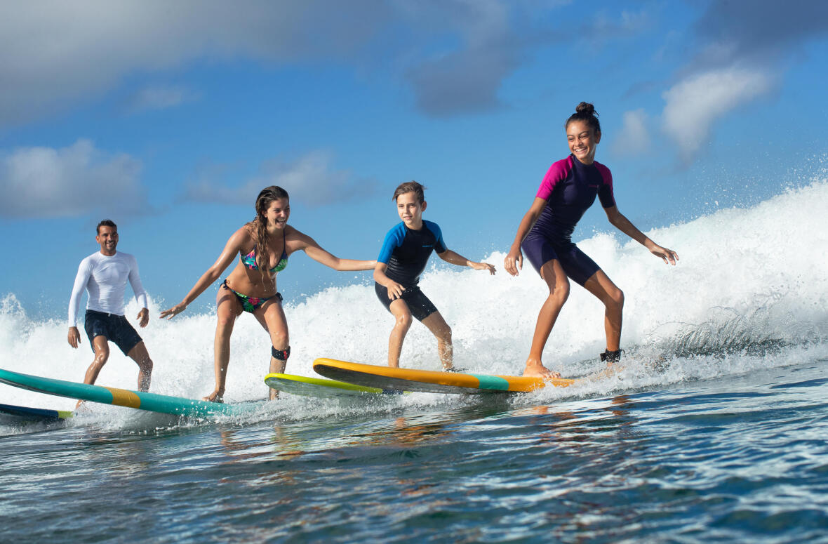 POURQUOI ADOPTER LA PLANCHE DE SURF MOUSSE?