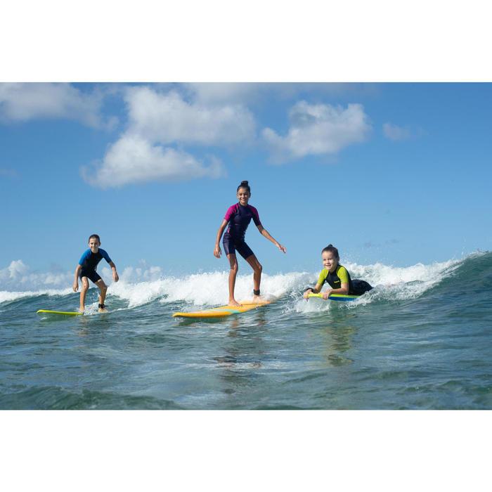 Combinaison Surf Shorty 100 Néoprène 1,5mm enfant violet rose