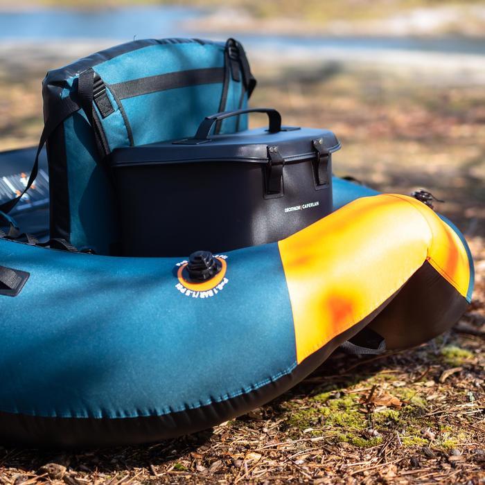 Tas voor achterop bellyboat FLTB-5 kunstaasvissen