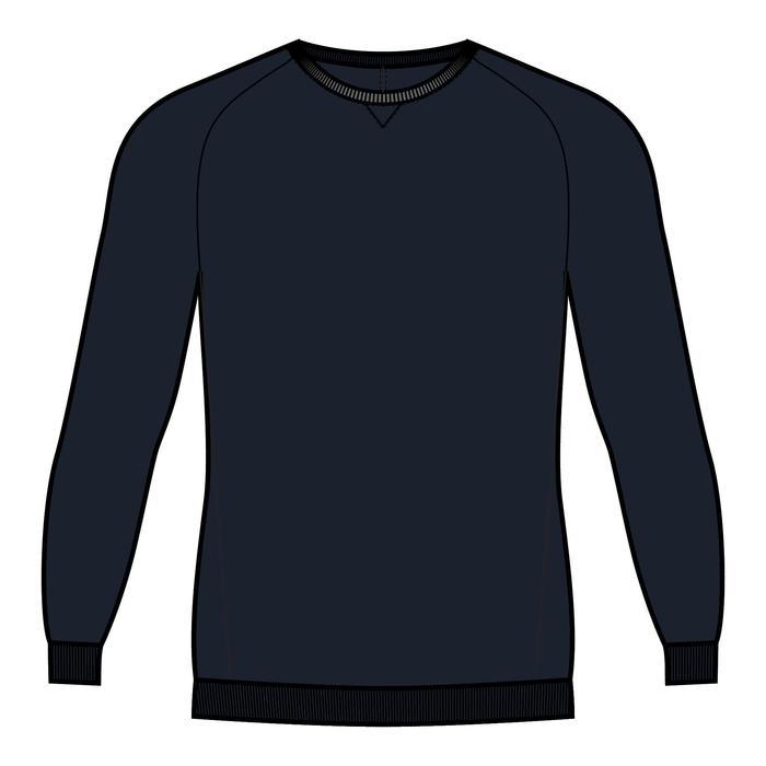 男款訓練運動衫120 - 軍藍色