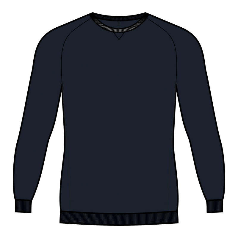 MAN GYM, PILATES COLD WEATHER APPAREL Pilates - Men's Gym Sweatshirt 120 DOMYOS - Pilates Clothes