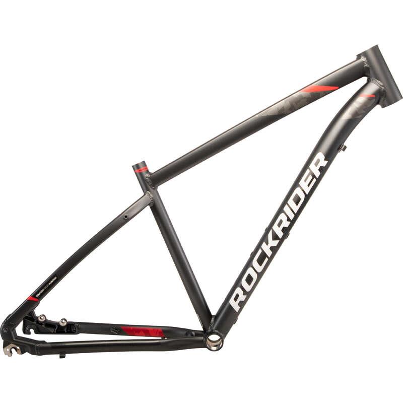 FRAME MTB Cycling - ST 540 Frame - Black ROCKRIDER - Bike Parts