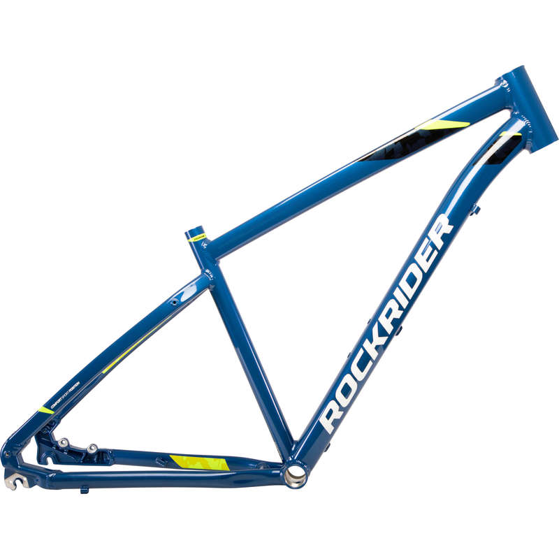 FRAME MTB Cycling - ST 540 Frame - Blue ROCKRIDER - Bike Parts