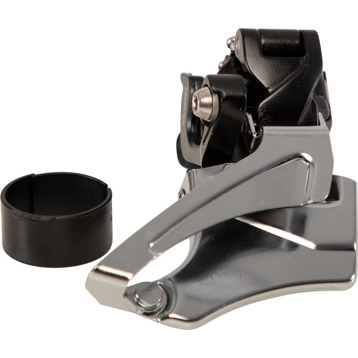 Voorderailleur Microshift 2X9 versnellingen 31,8 / 34,9 mm top en down pull