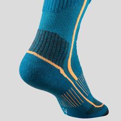 Chaussettes chaudes tiges hautes de randonnée - SH520 X-WARM - adulte X2 paires