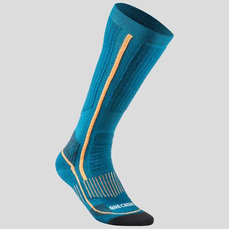 Adult Winter Hiking Socks X-Warm High SH520 - Blue.