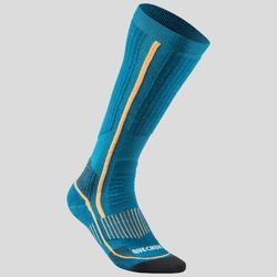 Wandersocken Winterwandern SH520 Extra-Warm hoch Erwachsene blau