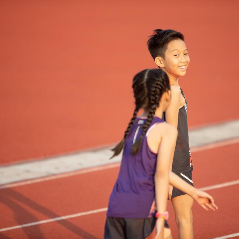 兒童跑步的好處