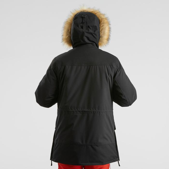 Men's Warm Waterproof Snow Hiking Parka SH500 Ultra-Warm - Black.