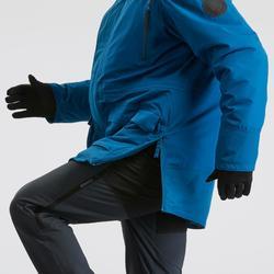 男款極致保暖雪地健行防水連帽外套SH500