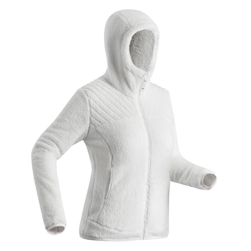 Veste polaire chaude de randonnée - SH100 ULTRA-WARM - Femme