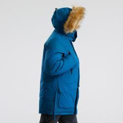 Men's warm waterproof snow hiking parka - SH500 U-WARM