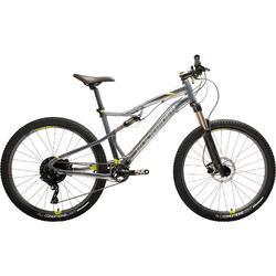 Radsport MTB ST 900S 27,5 Zoll grau/gelb
