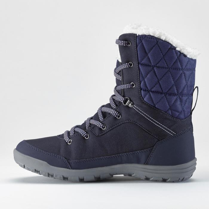 Winterschuhe SH100 Extra-Warm High Damen blau