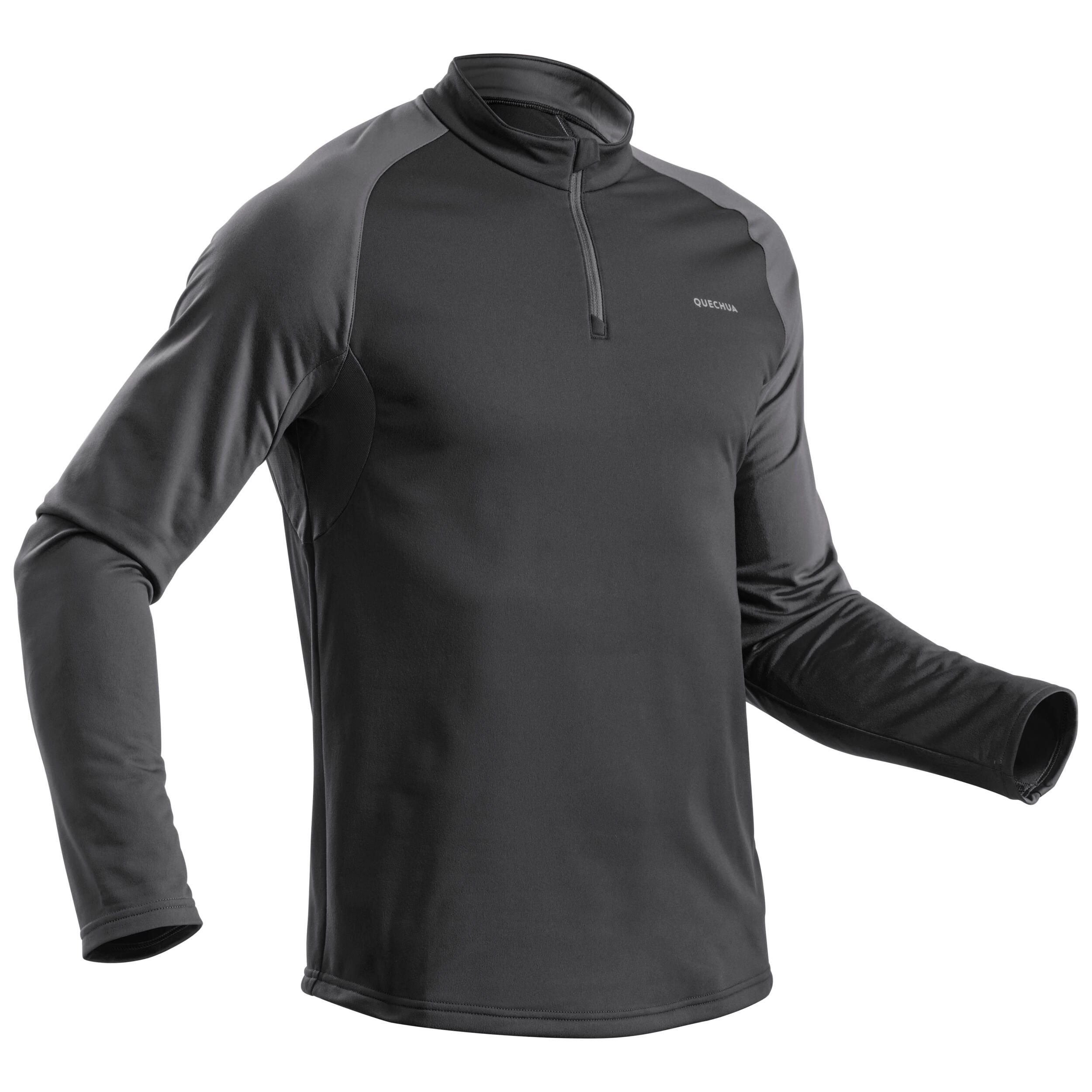 Bluză SH100 WARM Negru Bărbaţi imagine