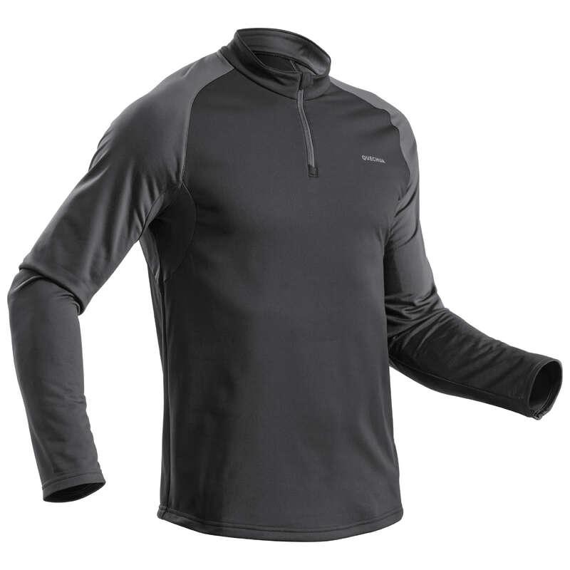 PANTALONI&POLARE DRUMEȚII ZĂPADĂ BĂRBAȚI Produse mărimi mari Bărbați - Bluză SH100 WARM bărbați QUECHUA - BARBATI