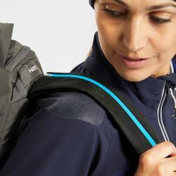 SH900女款保暖冬季健行防雪軟殼外套-藍色