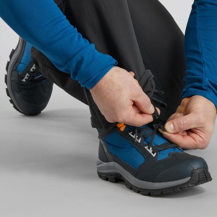 SH500 X-Warm Men's Snow Hiking Trousers. - Dark Grey.
