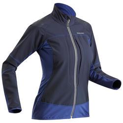 Softshelljacke Winterwandern SH900 Warm Damen blau