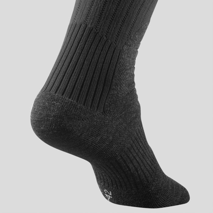 Warme wandelsokken volwassenen SH100 Warm high zwart