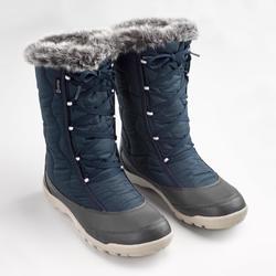 Winterstiefel Winterwandern SH500 X-Warm Damen blau