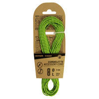 Climbing and Mountaineering Cordelette 2 mm x 10 m - Green