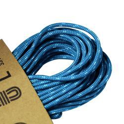 Hulptouw voor klimsport en alpinisme van 2 mm x 10 m blauw