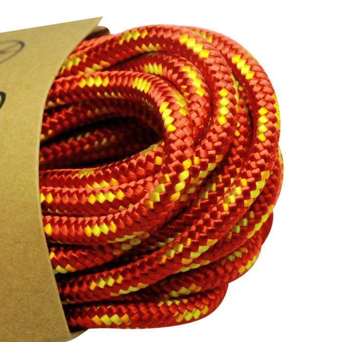 Hulptouw voor klimsport en alpinisme van 3 mm x 10 m rood