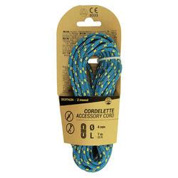 Corda fina de escalada e alpinismo 4 mm x 7 m - Azul