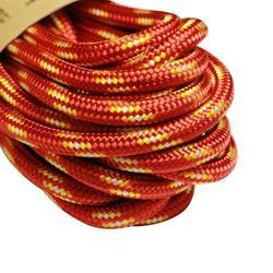 攀岩與登山用輔助繩5 mm x 6 m-紅色