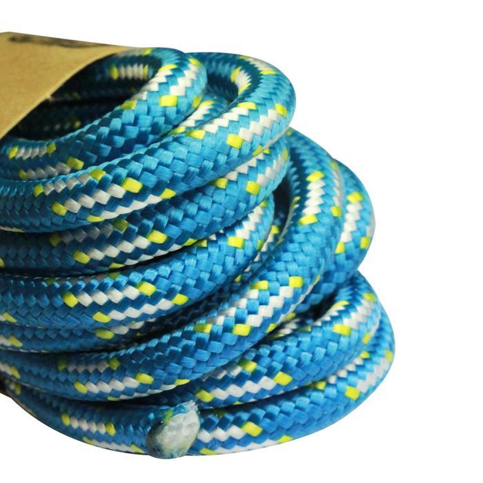 Hulptouw voor klimmen en alpinisme 6 mm x 5,5m blauw