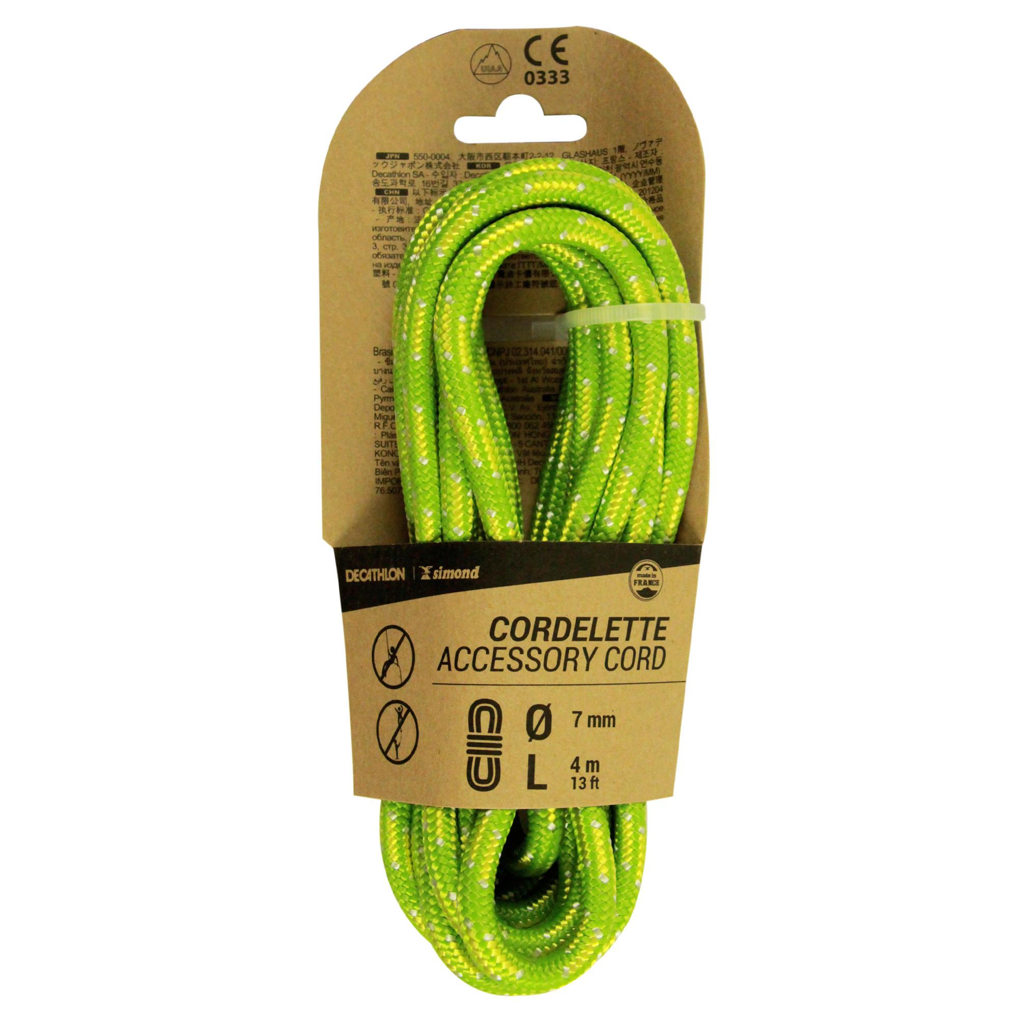 Cordelină 7 mm x 4 m Verde